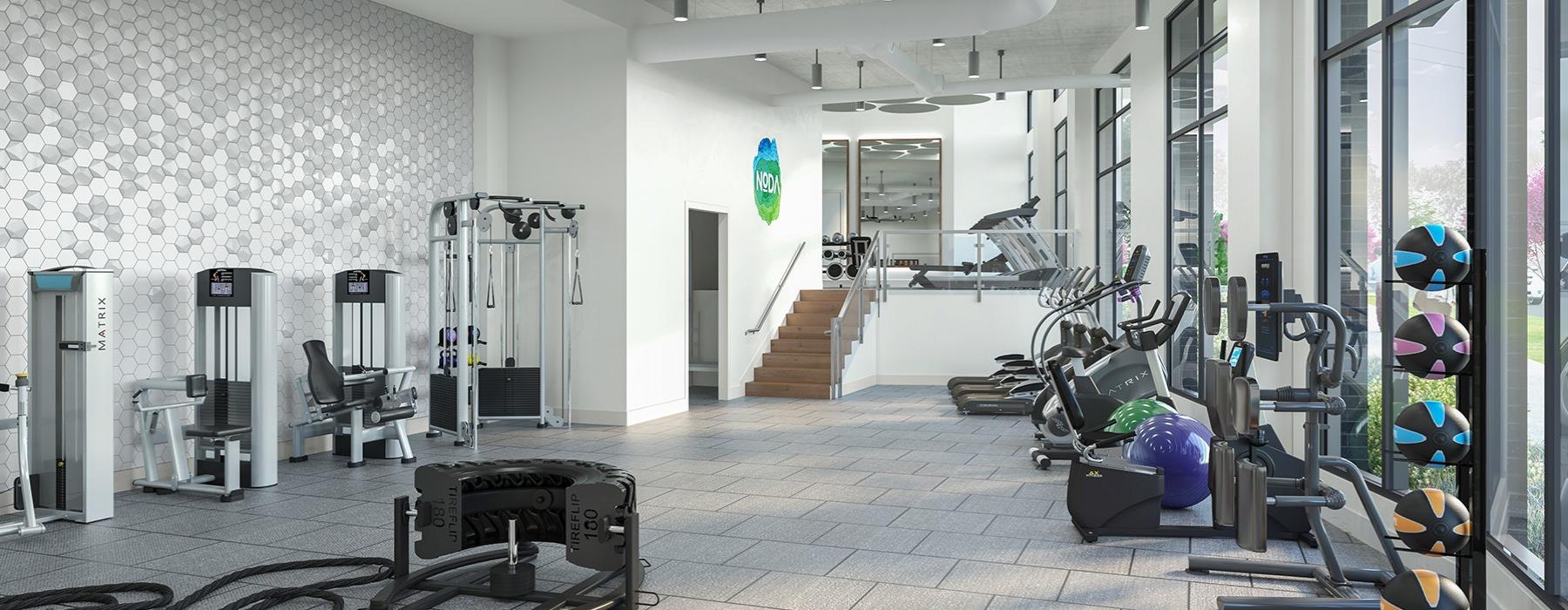 Fitness Center at Bainbridge NoDa